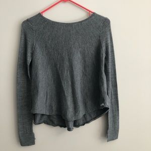 Armani Exchange Light Grey Sweater